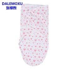 DALEMOXU Cocoon детский летний спальный мешок Жираф хлопок конверт пеленка спальный мешок Волшебные Ремни для детское постельное белье от 0 до 6 ме...(China)