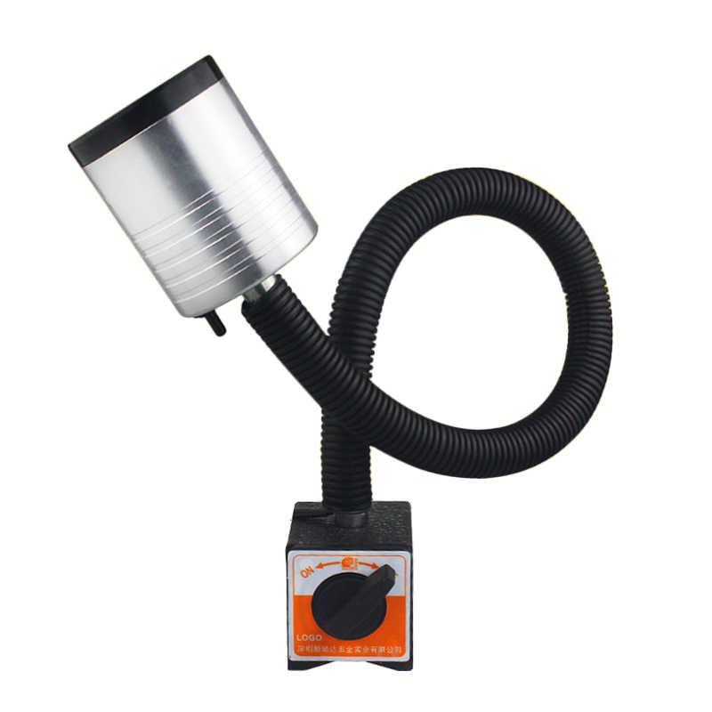 CLAITE 9 Вт светодиодный токарный станок с ЧПУ фара 50 см Гибкий гусиный фрезерный станок рабочий свет с американской вилкой 90-220 В