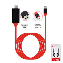 4K USB 3.1 Type C To HDMI Cable HDTV HDMI Adapter For Lenovo ThinkPad X1 2018 MacBook MacBook Pro Samsung S8 S9 NOTE8 new original thinkpad x1 carbon4 x1 yoga hdmi to vga dongle fru adapter cable 03x6574