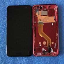 "Axisinternational LCD Frame For 5.5"" HTC U11 LCD Screen Display Touch Panel Digitizer For HTC U11 U-3w U-1w U-3u Display Frame"