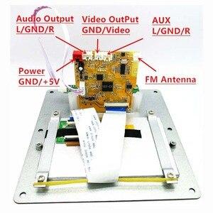 Image 3 - Claite 4.3 lcd dts placa de decodificador de vídeo de áudio sem perdas bluetooth receptor mp4/mp5 vídeo ape/wma/mp3 decodificação suporte fm