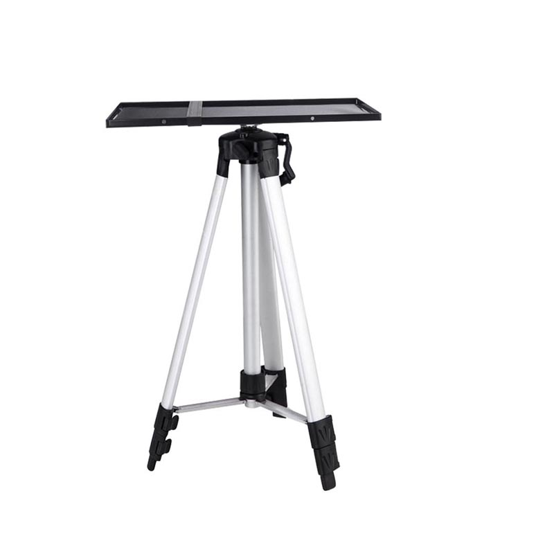 LEORY 1PC Projector Aluminum Alloy Ground Tripod Projector Telescopic Pallet Tripod Level Instrument