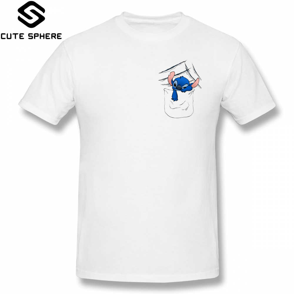 42415a4d3 Lilo Stitch T Shirt Badness Level Rising T-Shirt Men Printed Tee Shirt  Short Sleeves