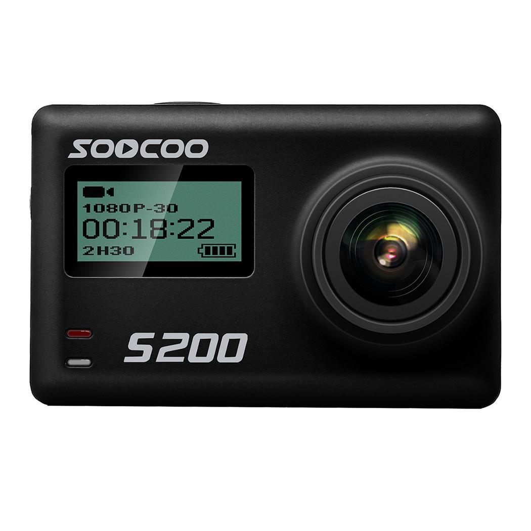 100% Wahr Soocoo S200 Action Sport Kamera Ultra Hd 4 K 20mp Ntk96660 Chip Cam Sensor Wifi Gryo Voice Control Mic Gps Touch Lcd Screen