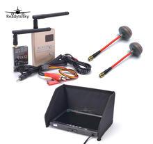 Комплект Азм комбо Системы 5,8 Ghz 600 mw 48CH TS832 RC832H RC832 + 7 дюймов ЖК-дисплей 1024×600 монитор + антенна Fatshark для Quadcopter