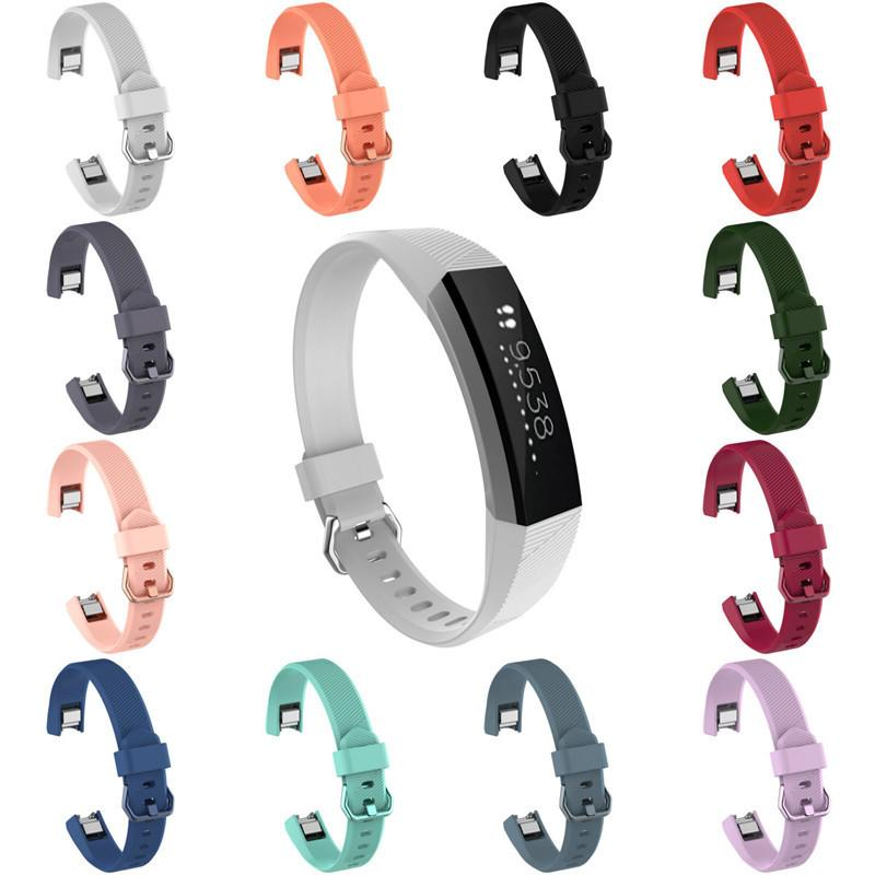 Silicone Smare Watch Tape Replacement Wrist Band Strap For Fitbit Alta HR image