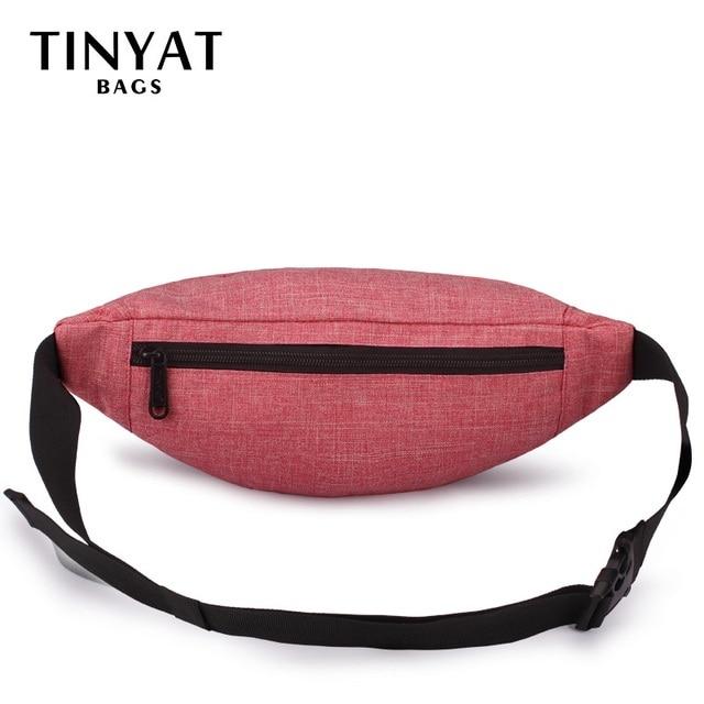 TINYAT Casual Waist Bag  5