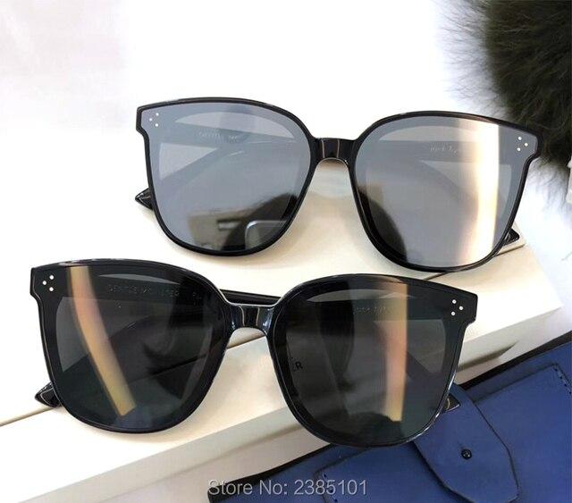 95a25748d 2019 Gentle FLATBA Jack bye Designer ladies sunglasses Mirror sun glasses  Vintage Female oculos flat lens glasses for men women