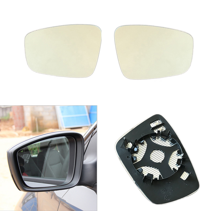 Right Passenger Side Wing Mirror Glass With Heated Fit For Chevrolet Cruze 17-18