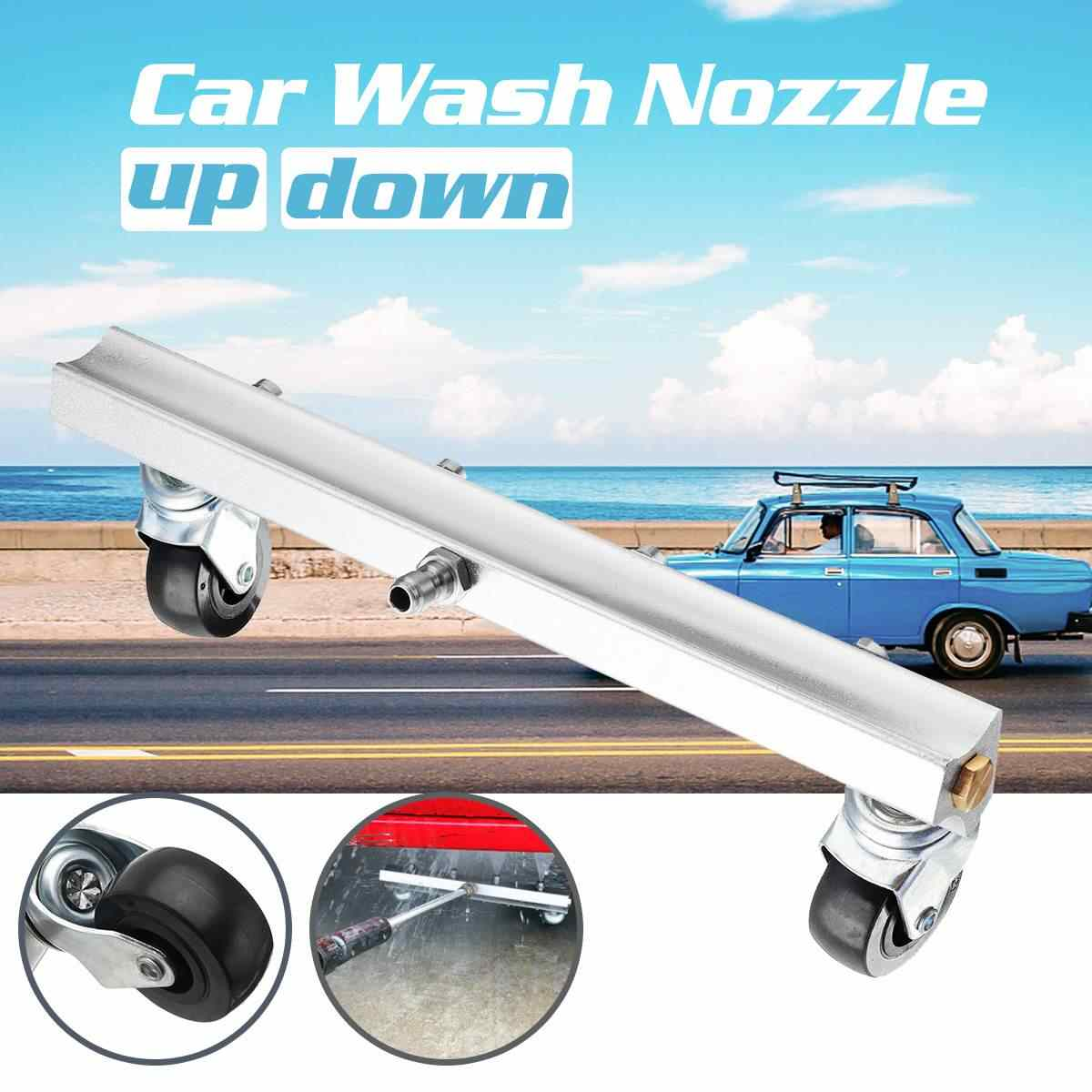 4 Nozzle Car Chassis Water Spray Ground Factory Kitchen Brush Clean Tool  1/4'' Car Washing Tool Kit Car Clean Tool