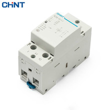 CHINT 2P 40A Household AC Contactor NCH8-40/11 220V Guide Type One Normally Open Often Close Contator