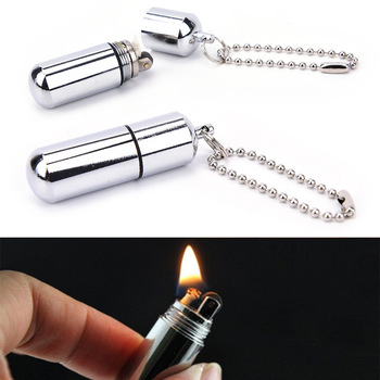 metal steel magnesium flint fire starter match survival tool for outdoor camping