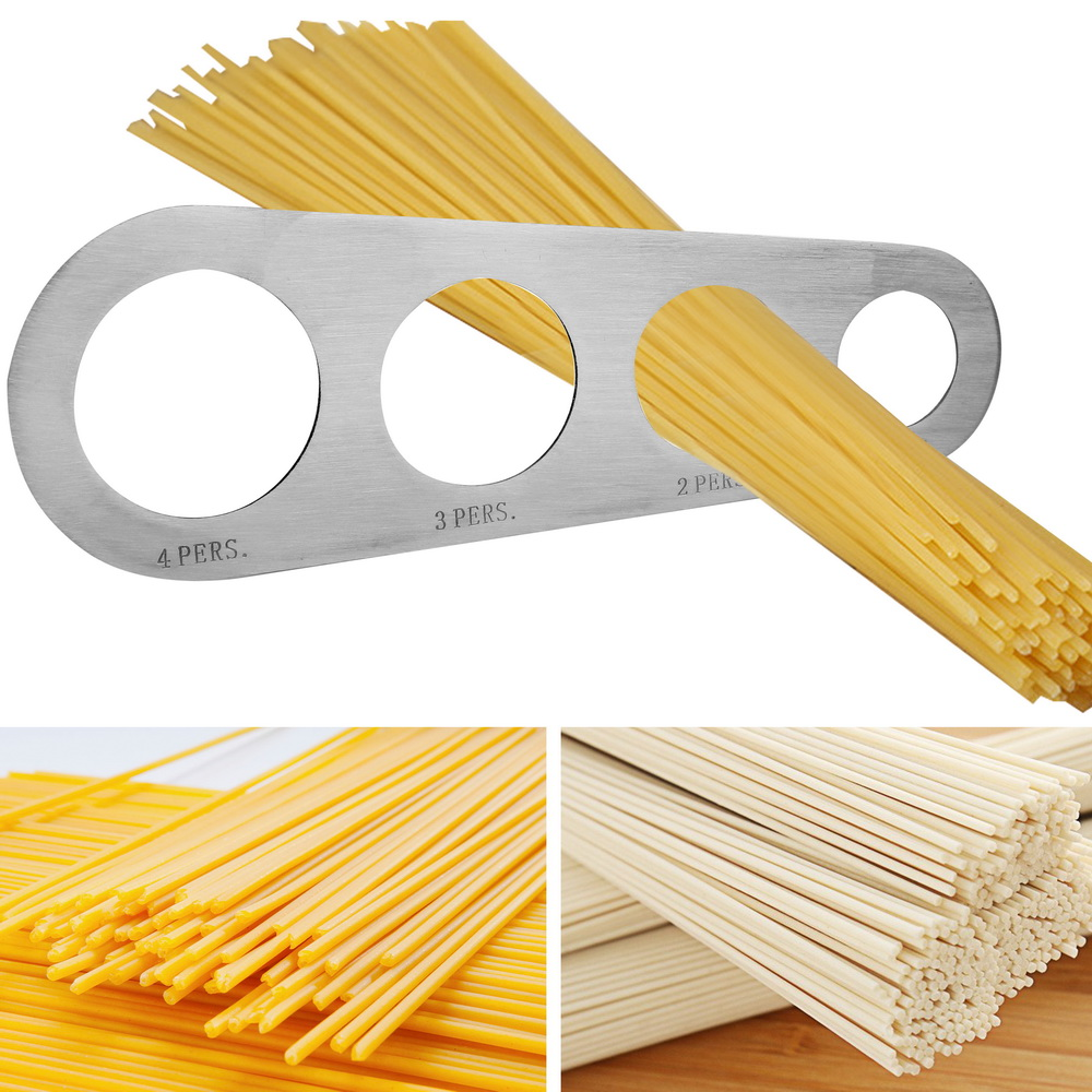 Four Holes Spaghetti Measurer  Stainless Steel  Pasta Noodle Measure Kitchen Accessories