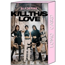 Buy 32Pcs/set KPOP Blackpink Girls 2019 Album Kill This Love HD Lomo Photo Card PVC Cards Clips Self Made Card Photocard directly from merchant!