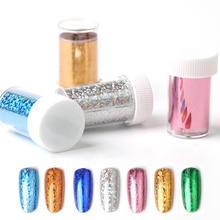 2019 new Fashion Nail Foil starry sky nail sheets  Nail Art transfer sticker decal elegant diy nail tips decoration стоимость