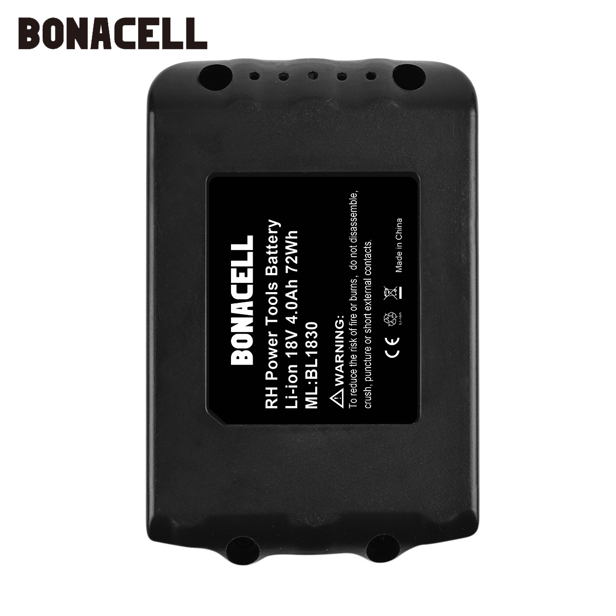 Image 5 - Bonacell 18V 4000mAh BL1830 Lithium Battery Pack Replacement for Makita Drill LXT400 194205 3 194309 1 BL1815 BL1840 BL1850 L30-in Replacement Batteries from Consumer Electronics