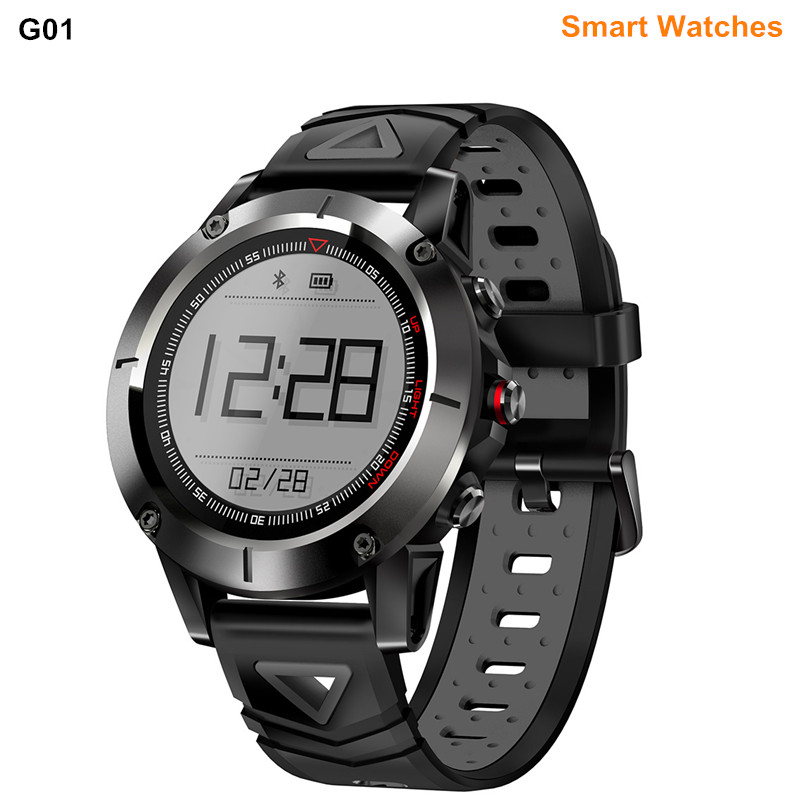 G01 GPS Smart Watches IP68 Waterproof Blood Pressure Oxygen Heart Rate Compass Swimming Sports Smartwatch For Android IOS volemer gps smart watch ip68 waterproof sports heart rate monitor bluetooth wristband oxygen compass smartwatch for android ios