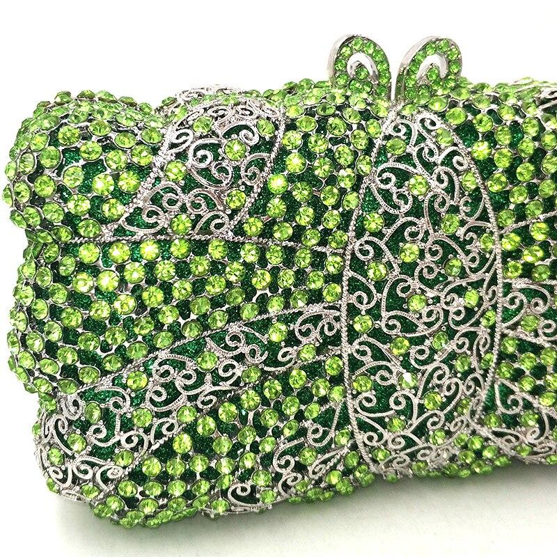 Accessoires Vintage Embrayages Diamants À Soirée Transparent Femmes Élégant Embrayage Color Mariage Main 1 Green Strass Sacs De send Pictures Sac Mariée Luxe q48PgP