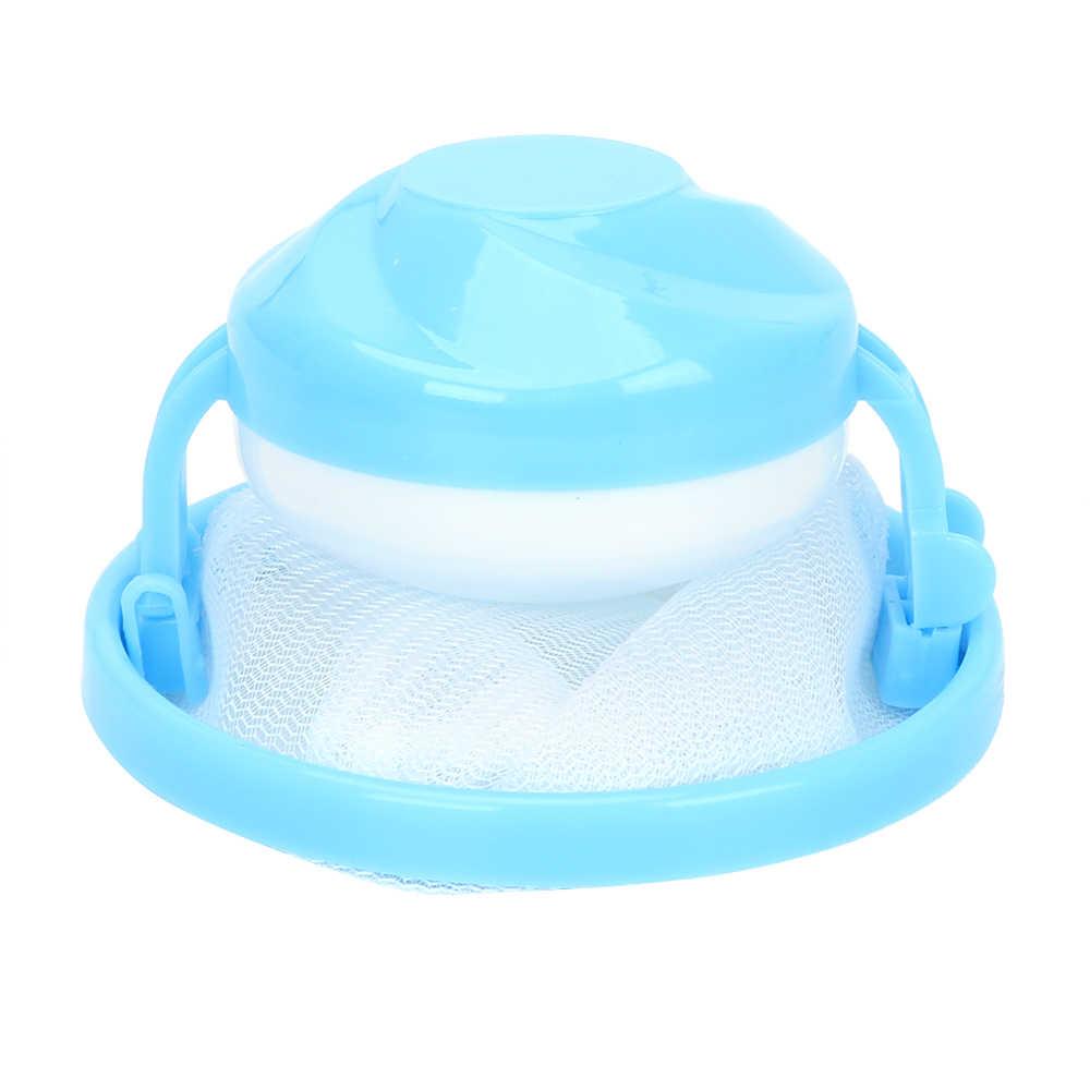 Schoonmaken Kleren Bal Zwevende Pluisjes Haar Catcher Wasserij Filter Bag Mesh Pouch Wasmachine Filter Vuile Fiber Collector