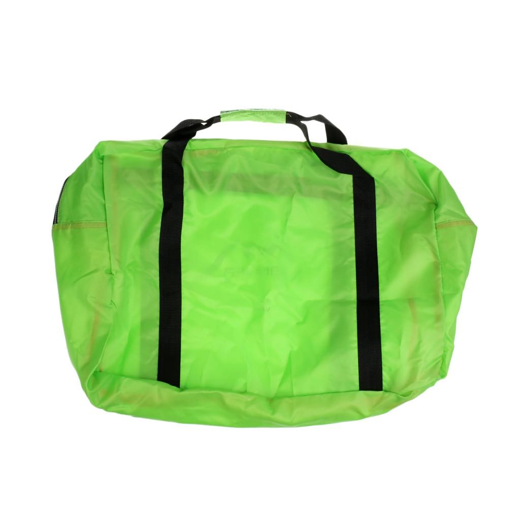 Large Green Nylon Water Sports Duffel Bag Case for Camping Kayaking Boating