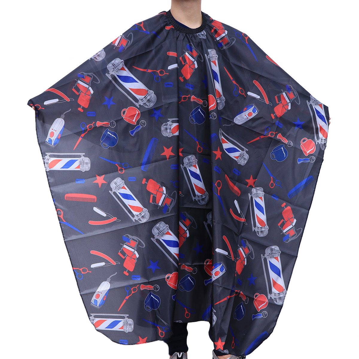 0abefa0ca Detail Feedback Questions about 1PC Haircut Cape Waterproof Prined ...