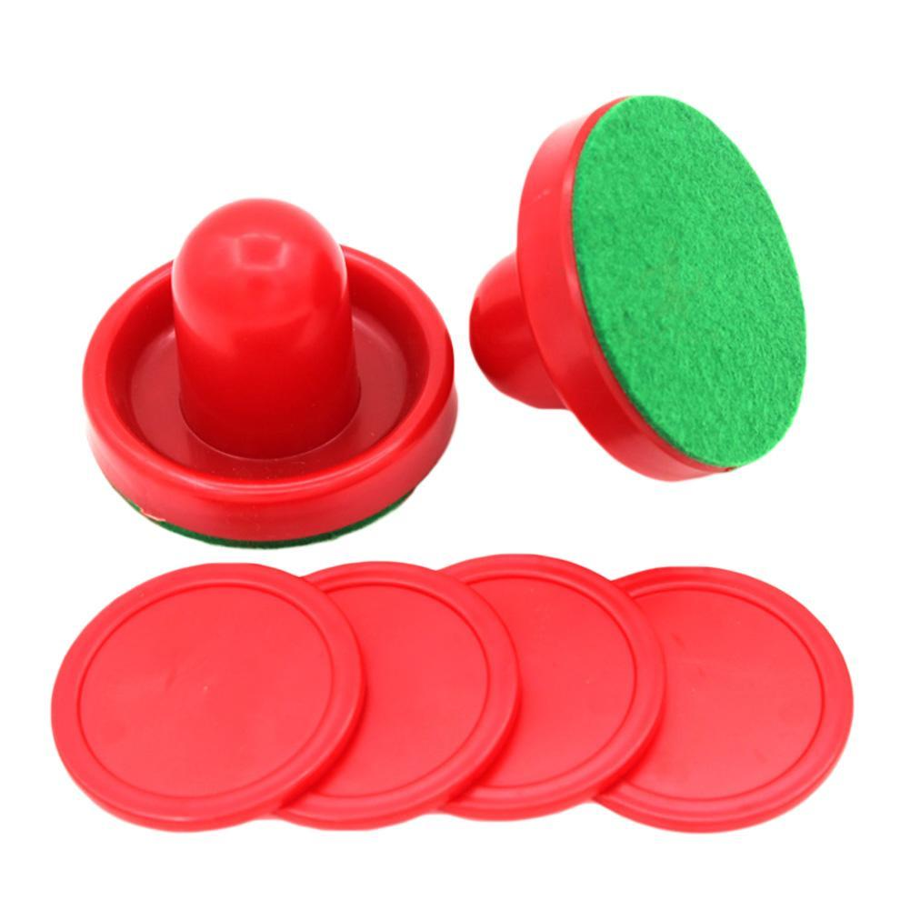 Air Hockey M65 Mini 1pcs 67mm Pusher Air Hockey Table Mallet Goalies And 1pcs 50mm Puck Entertainment