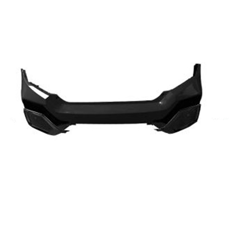 Auto Exterior Styling Protector Decoration Modified Rear Diffuser Tuning Front Car Lip Bumpers 16 17 18