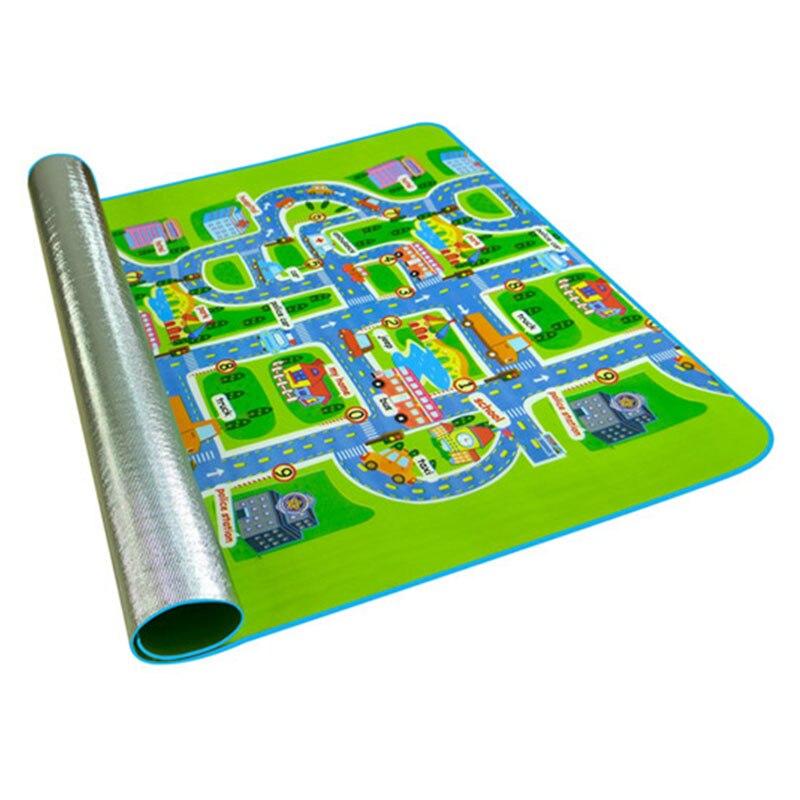 Tapete do jogo do bebê brinquedos para crianças tapete crianças playmat desenvolvimento pe algodão quebra-cabeças espuma jogo berçário 200cm x 160cm x 5mm