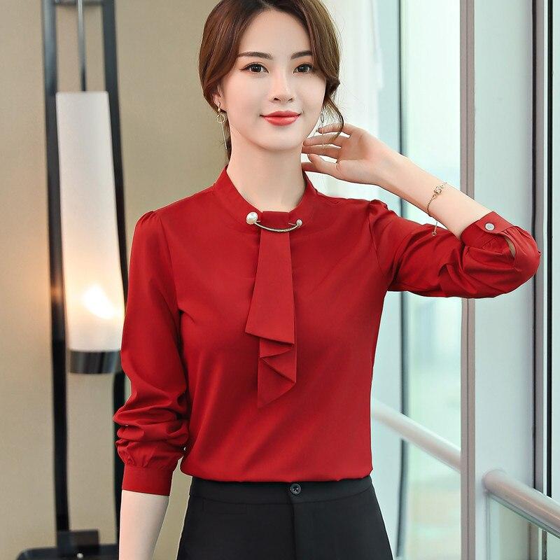 0707d5841 Compra red formal blouses women y disfruta del envío gratuito en ...