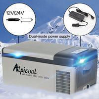 15L DC24V 12 V автомобильный холодильник для автомобиля холодильник ремень привода вентилятора США/ЕС/UK штекер для автомобиля дома Пикник холоди