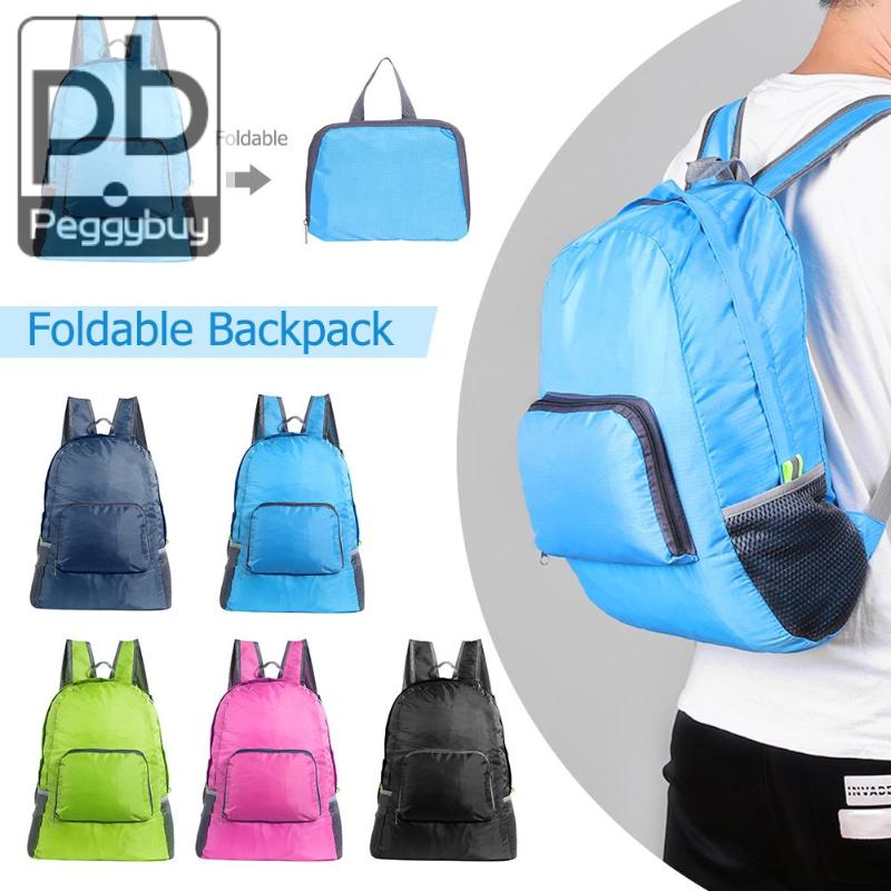 Foldable Shoulder Travel Backpack Multifunction Preppy Style Solid School Women Travel Backpack Traveling Bag Outdoor BagsFoldable Shoulder Travel Backpack Multifunction Preppy Style Solid School Women Travel Backpack Traveling Bag Outdoor Bags