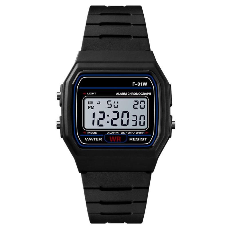Digital Watch Alarm Electronic-Clock Sport Waterproof Women HONHX Masculino Luxury Brand