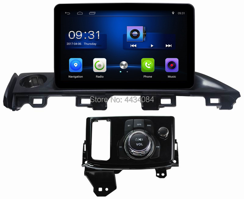 Ouchuangbo car <font><b>gps</b></font> navi autoradio stereo for <font><b>Mazda</b></font> Atenza 2017 support USB wifi SWC android 8.1 OS free Saudia Arabic <font><b>map</b></font> image