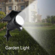 Outdoor Waterproof Garden Light Solar Powered Lawn Lamp Automatic Sensor LED Solar Lamp Garden luces solares para exterior все цены