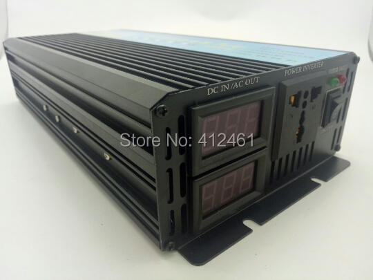 Freeshipping! Power <font><b>Inverter</b></font> 1500 W spitzen 3000 W Reine Sinus Welle <font><b>Inverter</b></font> Off Grid <font><b>Inverter</b></font> DC12V-AC230V sinus welle <font><b>wechselrichter</b></font> image