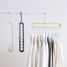 Koop 1PC Multifunctionele magic interieur garderobe hanger Kleren Opslag Organisatie