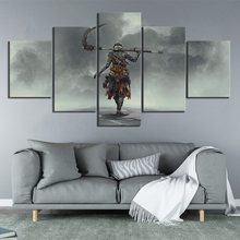 5 Piece HD Pictures ASHEN Game Poster Paintings Canvas Art for Home Decor Wall