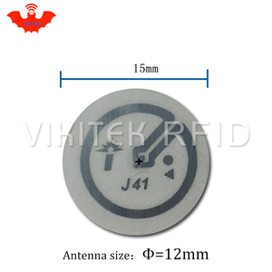 Image 2 - Impinj J41 UHF RFID adhesive wet inlay sticker 860 960MHZ Monza4 915M EPC C1G2 ISO18000 6C can be used to RFID tag label 100 pcs