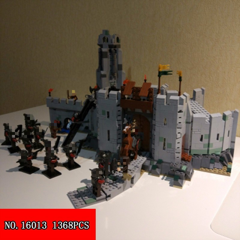 NEW 1368Pcs The Lord of the Rings The Battle Of Helm's Deep Building Block Toys Building Toys Toys & Hobbies