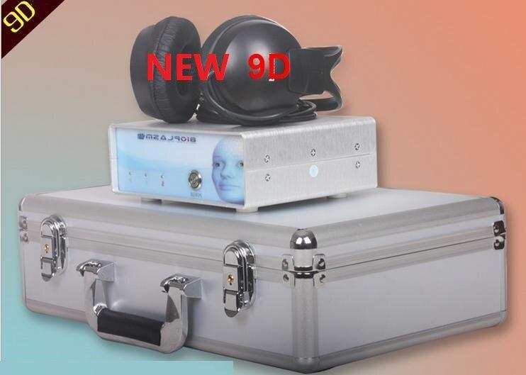 2019 nouvel analyseur de corps en 9D système d'analyse Version du dispositif 5.9.8 DHL livraison gratuite - 4