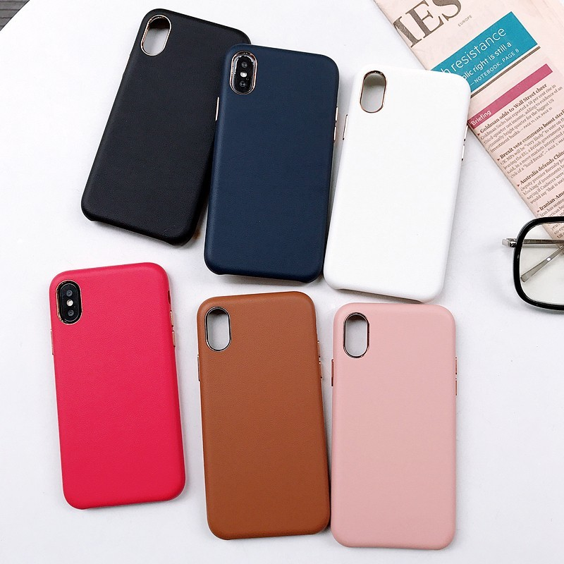 Buluby Para Iphone Caso Oficial de Couro tampa Traseira Para o iphone X Xr Xs Xs Max 8 7 6 6 s s Mais Funda Coque Luxo de Proteção Total