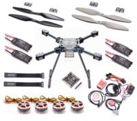 Обновления F550 ZD550 550 мм углеродного волокна Quadcopter кадр Naza М Lite 5010 750KV двигателя 40A OPTO 2-6 S бесщеточный ESC 1245 Пропеллер