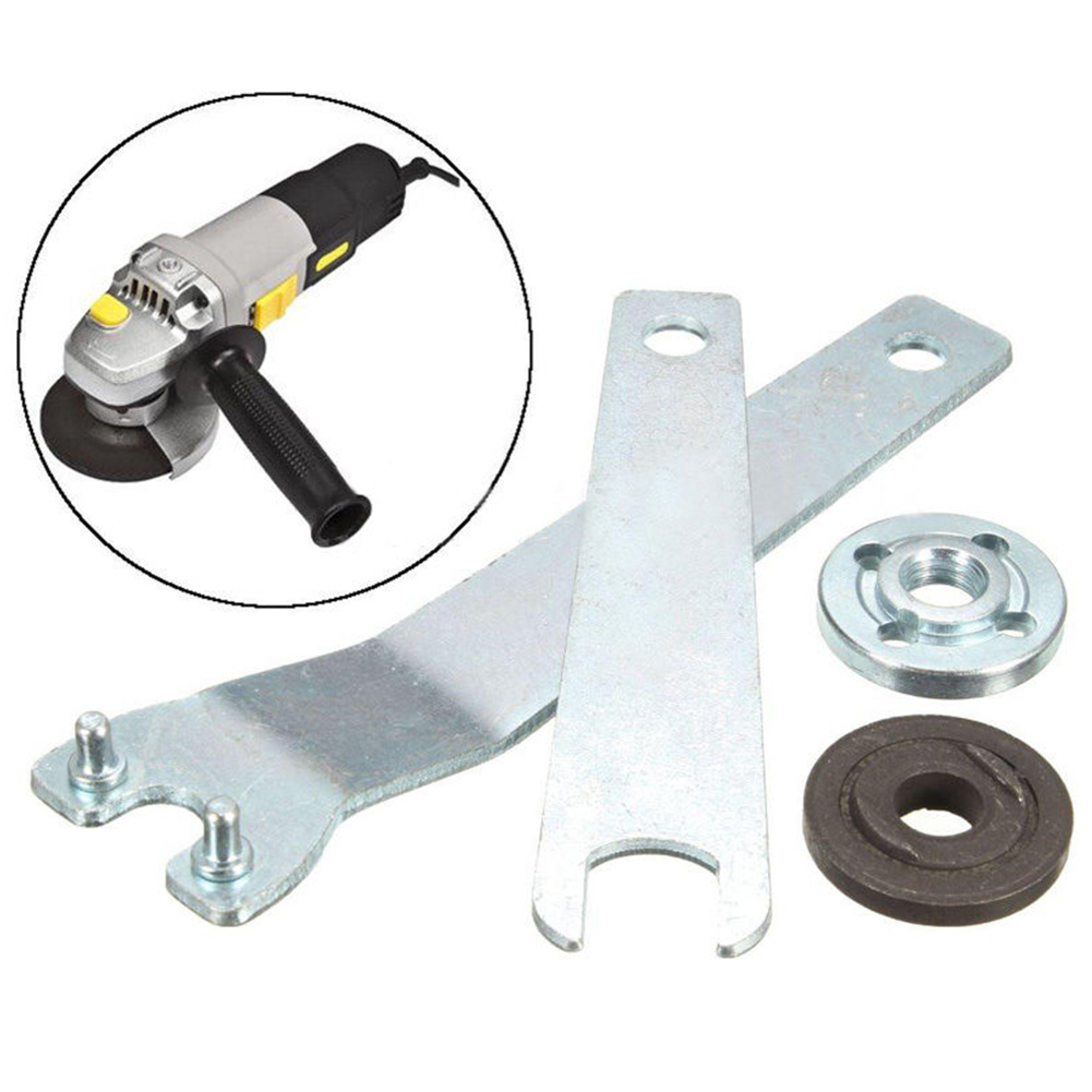 Angle Grinder Durable Key Tensioner Lock Nut Multifunctional Hand Replacement Tools Flange Angle Wrench