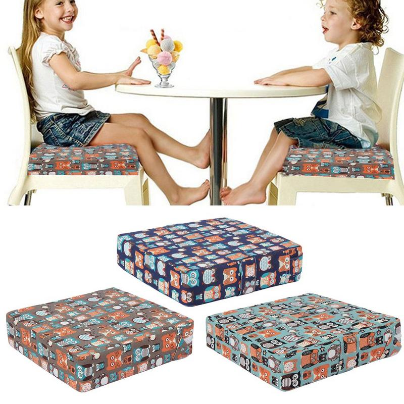 Baby Kids Booster Seats Cushion Pad Mat Washable Durable Print Booster Pad For Children Kids