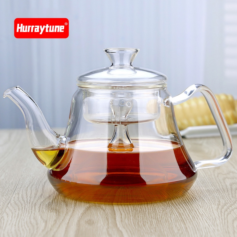 Thickening heat resistant glass teapot electric ceramic stove water heater health pot glass tea set teapot