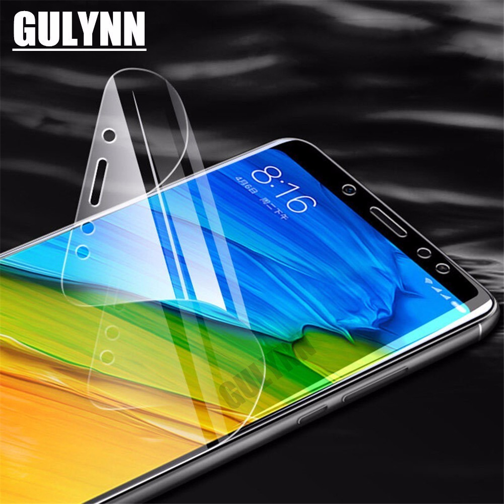 9D Screen Protector Protective Film For Xiaomi Mi 9 9SE Mix 3 2s Strengthen Hydrogel Film for Redmi 7 5A 5 Note 5 7 Pro Cover HD in Phone Screen Protectors from Cellphones Telecommunications