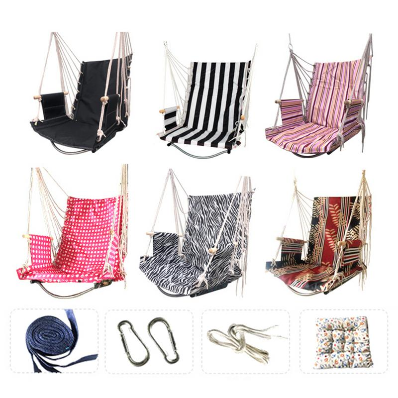 Outdoor Hanging Swing Chair Rope Hammock Seat for Indoor Outdoor Spaces Home Indoor Outdoor Playground For Kid