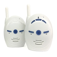 V20 Portable Baby Sitter 2.4GHz Baby Monitor Audio Digital Voice Broadcast Double Talk Walkie talkie