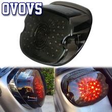 Заводское предложение, 1 шт., дымчатый светодиодный задний светильник с номерным знаком, светильник для Harley Sportster 1200 dyna lowrider