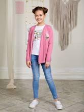 Жакет трикотажный Luminoso для девочек